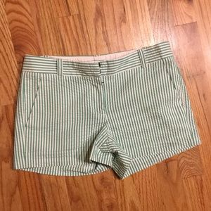 J.Crew size 0 city fit shorts